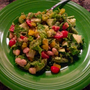 Summer Soul Chopped Salad - final